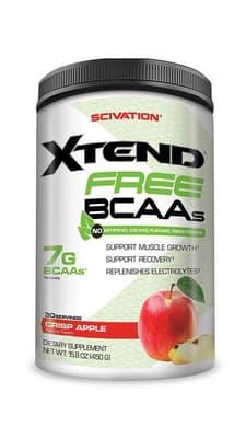 Scivation Xtend Free BCAAs クリスプアップル 30 サービング 467 g