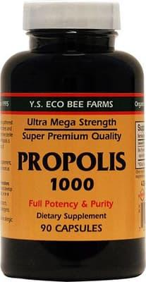 Y.S. Eco Bee Farms プロポリス1000 90ベジカプセル